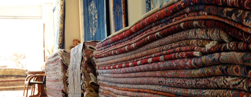 Chandjian Teppichhaus Teppichstapel
